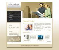 Construction company website template psd, htm